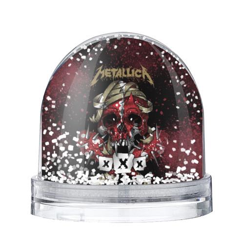 Водяной шар со снегом Metallica