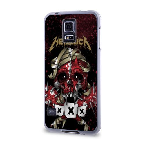 Чехол для Samsung Galaxy S5 силиконовый  Фото 03, Metallica