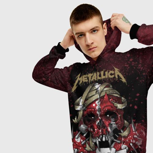 Мужская толстовка 3D Metallica