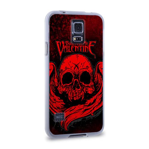 Чехол для Samsung Galaxy S5 силиконовый  Фото 02, Bullet for my valentine