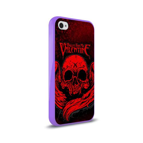 Чехол для Apple iPhone 4/4S силиконовый глянцевый  Фото 02, Bullet for my valentine