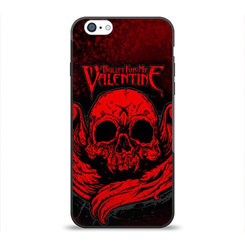 """Чехол силиконовый глянцевый для Apple iPhone 6 """"Bullet for my valentine"""" (2) - 1"""