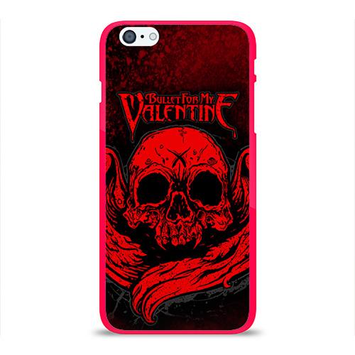 """Чехол силиконовый глянцевый для Apple iPhone_6 Plus """"Bullet for my valentine"""" (2) - 1"""