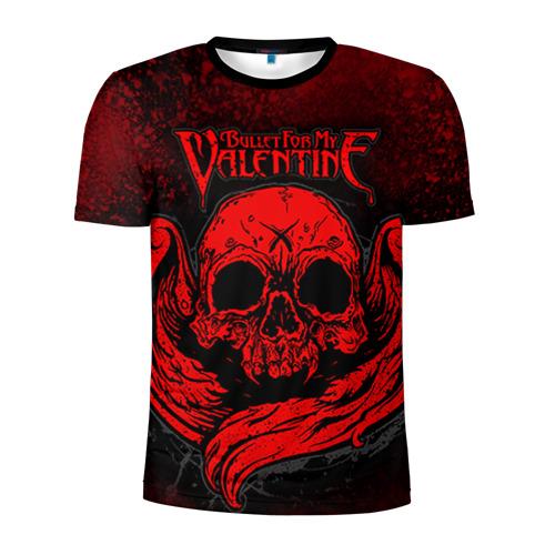 Мужская футболка 3D спортивная Bullet for my valentine