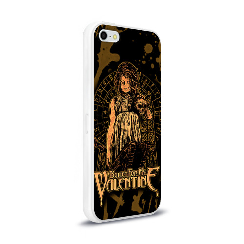 Чехол для Apple iPhone 5/5S силиконовый глянцевый  Фото 02, Bullet for my valentine