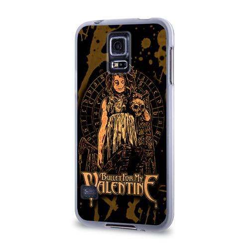 Чехол для Samsung Galaxy S5 силиконовый  Фото 03, Bullet for my valentine