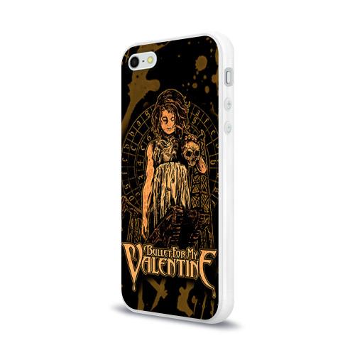 Чехол для Apple iPhone 5/5S силиконовый глянцевый  Фото 03, Bullet for my valentine