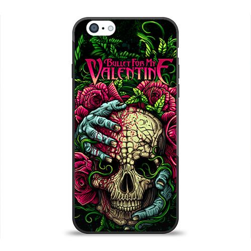 Чехол силиконовый глянцевый для Apple iPhone 6 Bullet for my valentine - 1