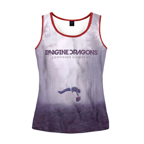 Женская майка 3D Imagine Dragons