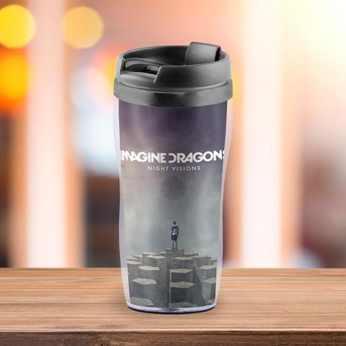 Термокружка-непроливайка  Фото 03, Imagine Dragons