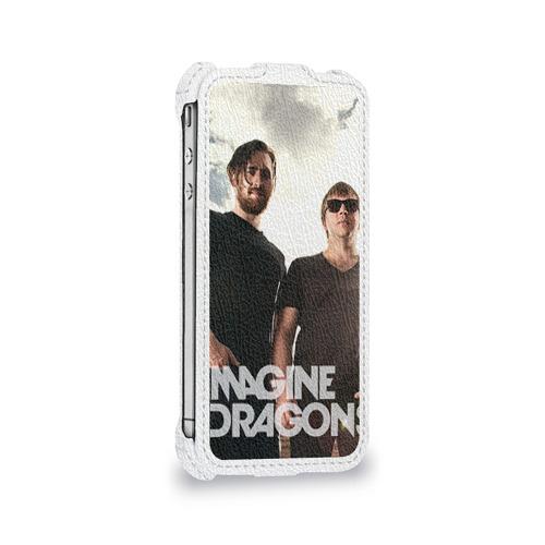 Чехол для Apple iPhone 4/4S flip  Фото 05, Imagine Dragons