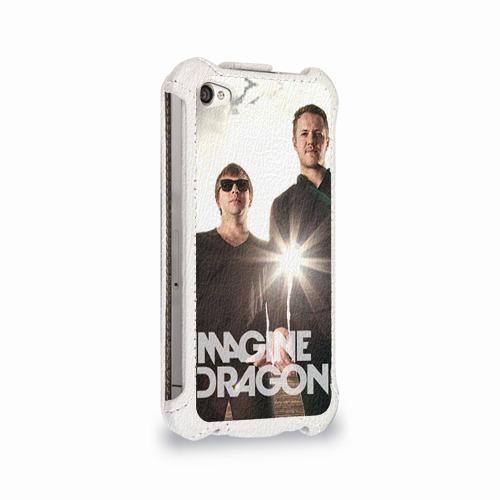 Чехол для Apple iPhone 4/4S flip  Фото 02, Imagine Dragons
