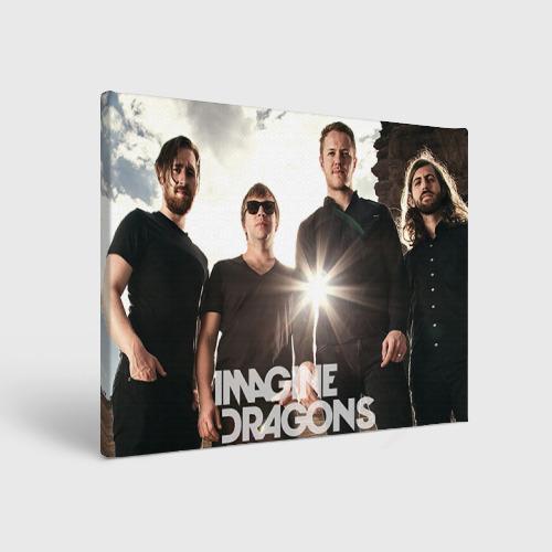Холст прямоугольный Imagine Dragons