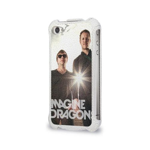 Чехол для Apple iPhone 4/4S flip  Фото 03, Imagine Dragons