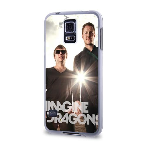 Чехол для Samsung Galaxy S5 силиконовый  Фото 03, Imagine Dragons