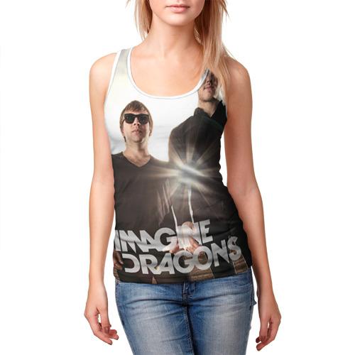 Женская майка 3D  Фото 03, Imagine Dragons