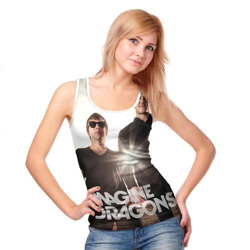 Женская майка 3D  Фото 05, Imagine Dragons