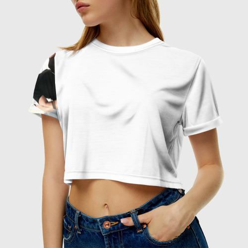 Женская футболка 3D укороченная  Фото 01, Imagine Dragons