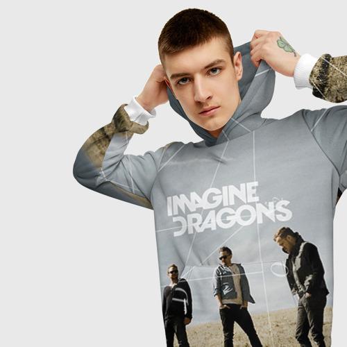 Мужская толстовка 3D Imagine Dragons