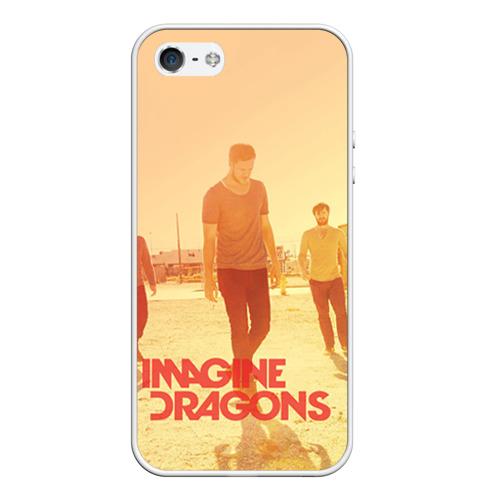 Чехол силиконовый для Телефон Apple iPhone 5/5S Imagine Dragons от Всемайки