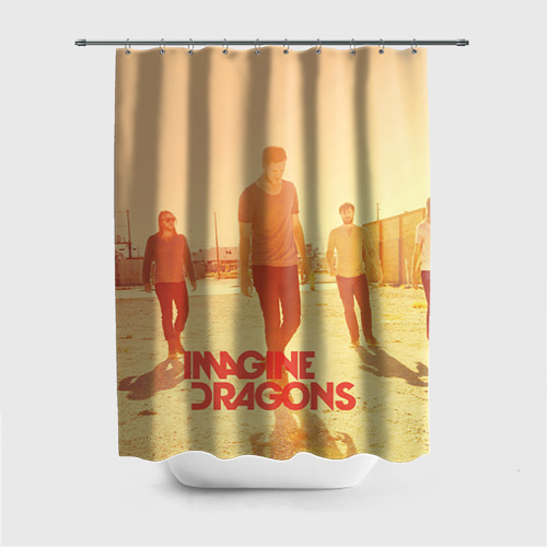 Штора для ванной Imagine Dragons от Всемайки