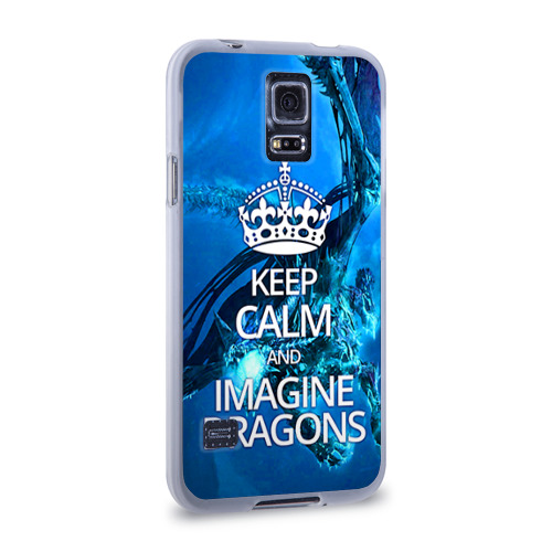 Чехол для Samsung Galaxy S5 силиконовый  Фото 02, Imagine Dragons