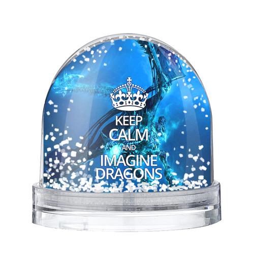 Водяной шар со снегом Imagine Dragons
