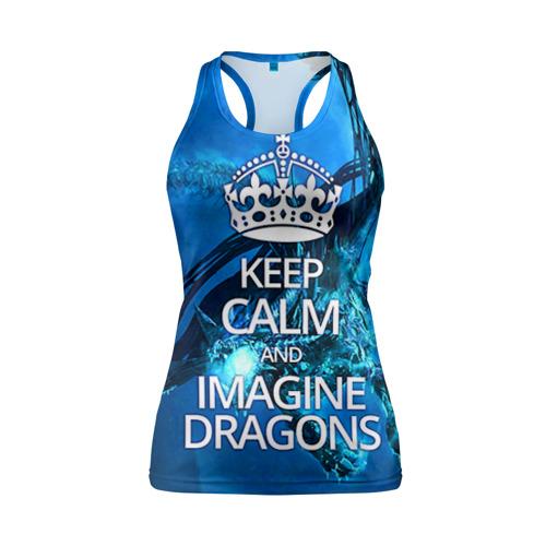 Женская майка 3D спортивная Imagine Dragons