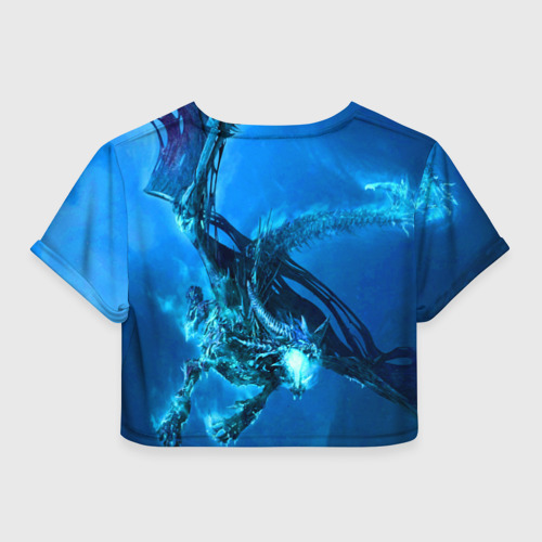 Женская футболка 3D укороченная  Фото 02, Imagine Dragons