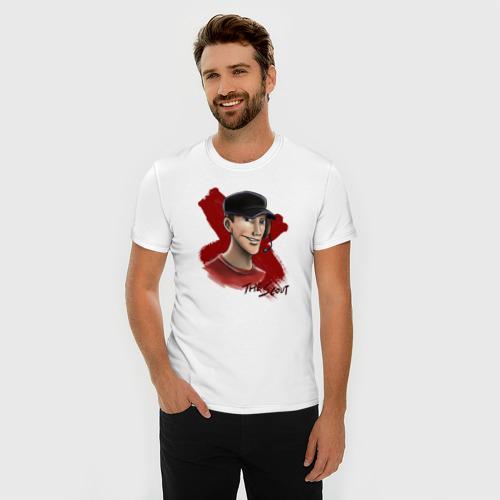 Мужская футболка премиум  Фото 03, Скаут