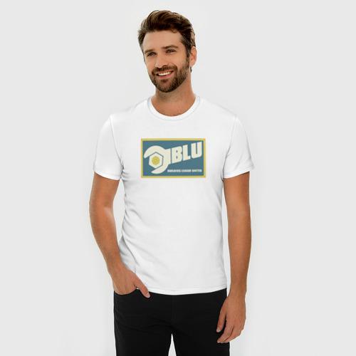 Мужская футболка премиум BLU Фото 01