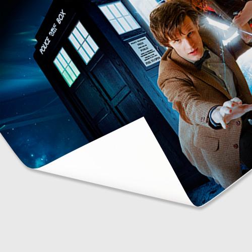 Бумага для упаковки 3D  Фото 03, Доктор кто