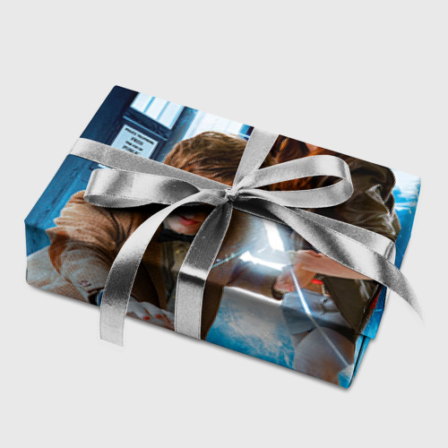 Бумага для упаковки 3D  Фото 05, Доктор кто