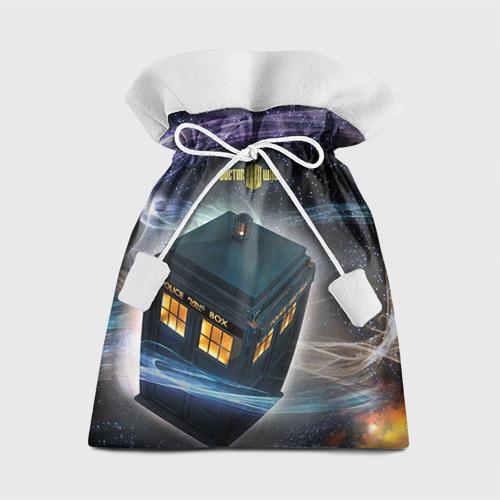 Подарочный 3D мешок Тардис