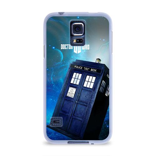 Чехол для Samsung Galaxy S5 силиконовый  Фото 01, Тардис