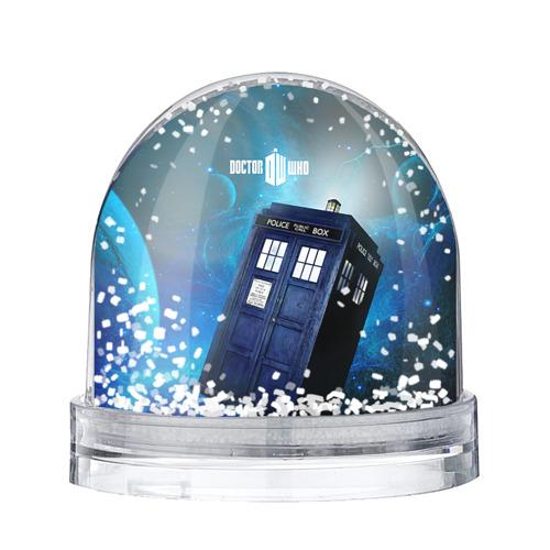Водяной шар со снегом Тардис
