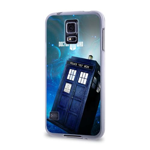 Чехол для Samsung Galaxy S5 силиконовый  Фото 03, Тардис