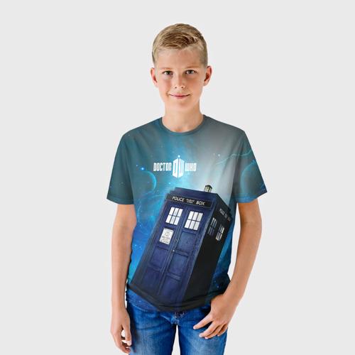 Детская футболка 3D Тардис