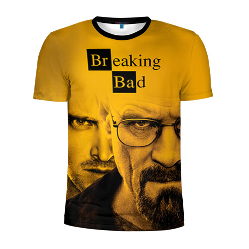 Мужская футболка 3D спортивная Breaking Bad