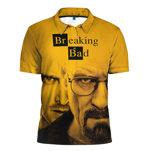 Мужская рубашка поло 3D Breaking Bad