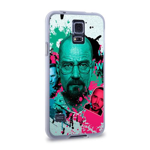 Чехол для Samsung Galaxy S5 силиконовый  Фото 02, Heisenberg