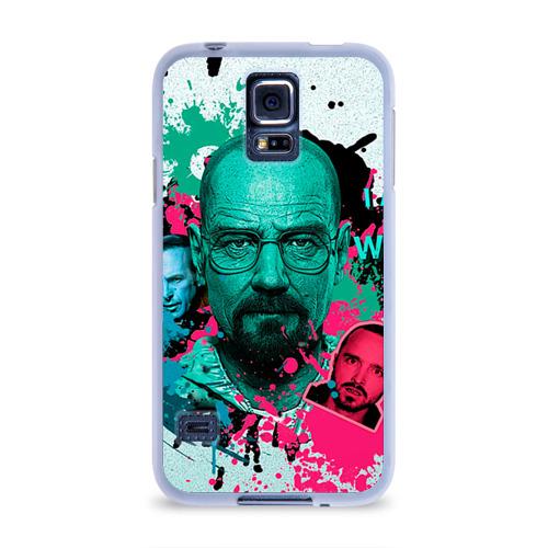 Чехол для Samsung Galaxy S5 силиконовый  Фото 01, Heisenberg