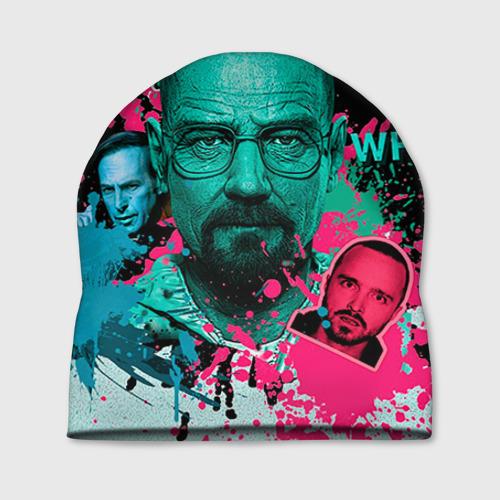 """Шапка 3D """"Heisenberg"""" - 1"""