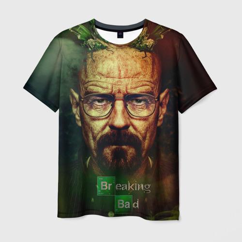 "Мужская футболка 3D с полной запечаткой ""Heisenberg"" (2) - 1"