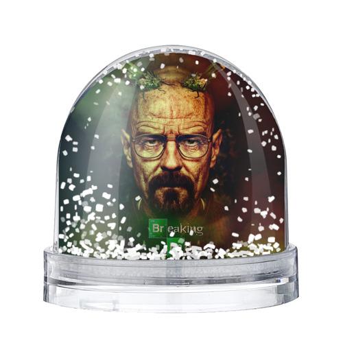 Водяной шар со снегом Heisenberg
