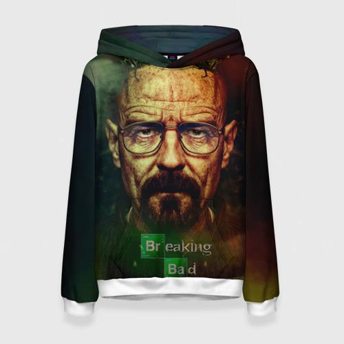 "Женская толстовка 3D с полной запечаткой ""Heisenberg"" (темная) - 1"