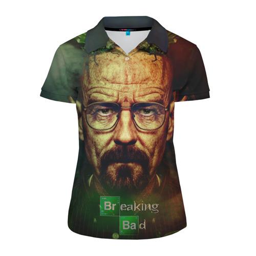 Женская рубашка поло 3D Heisenberg