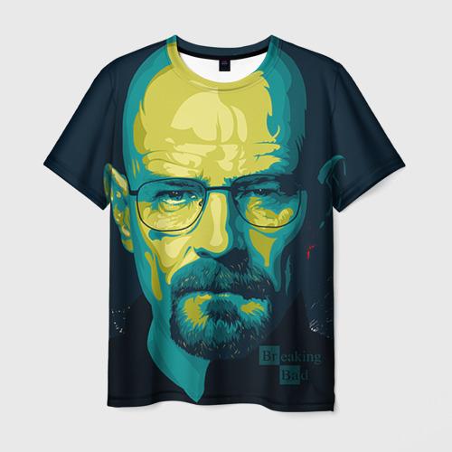 Мужская футболка 3D Heisenberg