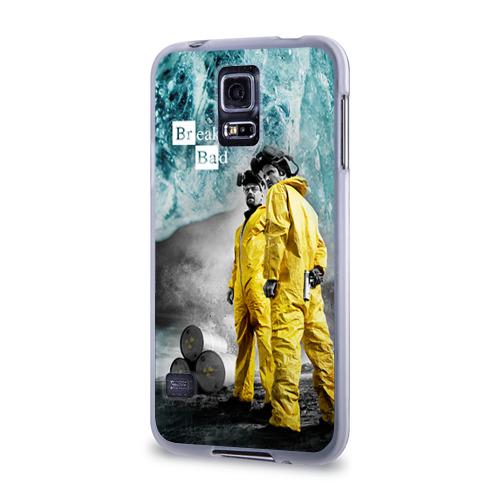 Чехол для Samsung Galaxy S5 силиконовый  Фото 03, Breaking bad
