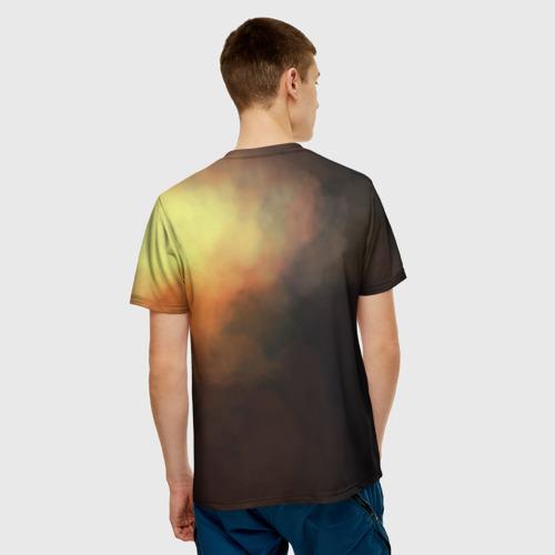 Мужская футболка 3D Blood and Fire